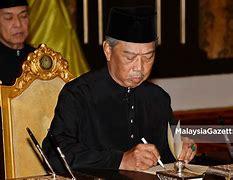 Angkat sumpah jawatan PM