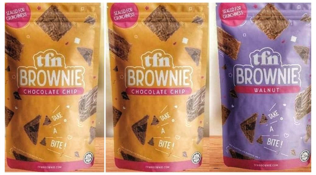Biskut Coklat Brownie